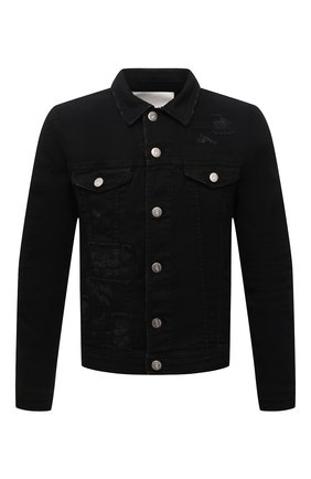 Мужская джинсовая куртка PREMIUM MOOD DENIM SUPERIOR черного цвета, арт. S21 03771527/DUTA | Фото 1