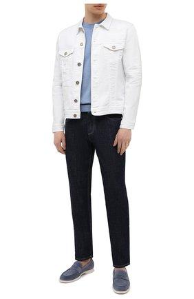 Мужская джинсовая куртка PREMIUM MOOD DENIM SUPERIOR белого цвета, арт. S21 03771527/DUTA   Фото 2