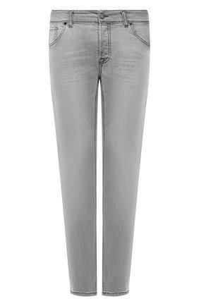 Мужские джинсы PREMIUM MOOD DENIM SUPERIOR серого цвета, арт. S21 0417234630/R0BERT   Фото 1