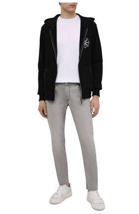 Мужские джинсы PREMIUM MOOD DENIM SUPERIOR серого цвета, арт. S21 0417234630/R0BERT   Фото 2