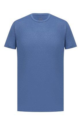 Мужская льняная футболка ALTEA голубого цвета, арт. 2155219 | Фото 1