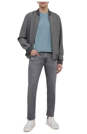 Мужские джинсы AG серого цвета, арт. 1783AHD/AVAL/MX | Фото 2