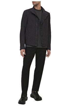 Мужская куртка TRANSIT темно-серого цвета, арт. CFUTRNP253 | Фото 2