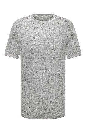 Мужской джемпер из хлопка и шелка TRANSIT черно-белого цвета, арт. CFUTRN10450 | Фото 1