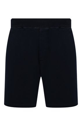 Мужские хлопковые шорты DSQUARED2 темно-синего цвета, арт. S79MU0018/S25042 | Фото 1