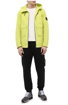 Мужская куртка STONE ISLAND светло-зеленого цвета, арт. 741541122 | Фото 2