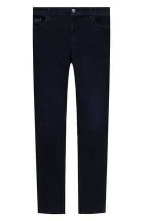 Мужские джинсы ZILLI синего цвета, арт. MCV-00020-MARV1/R001/66-68 | Фото 1 (Big sizes: Big Sizes; Материал внешний: Хлопок; Силуэт М (брюки): Прямые; Кросс-КТ: Деним; Стили: Классический; Длина (брюки, джинсы): Стандартные)