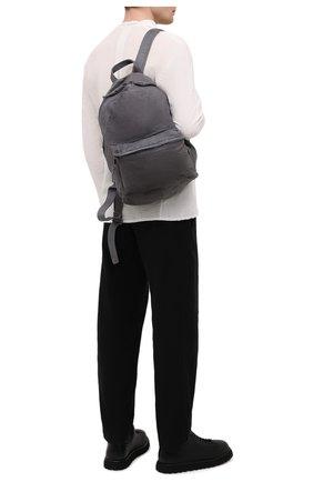 Мужской кожаный рюкзак GIORGIO BRATO темно-серого цвета, арт. BS21S2401V | Фото 2