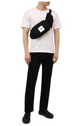Мужская текстильная поясная сумка Y-3 черного цвета, арт. GT8920/M | Фото 2