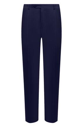 Мужские шерстяные брюки CANALI синего цвета, арт. 71012/AS10315 | Фото 1