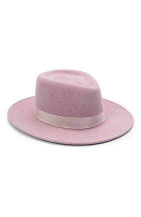 Женская шляпа drop COCOSHNICK HEADDRESS розового цвета, арт. drops-1021 | Фото 1