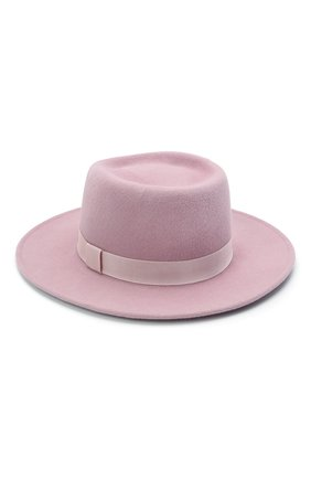 Женская шляпа drop COCOSHNICK HEADDRESS розового цвета, арт. drops-1021 | Фото 2