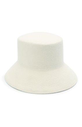 Женская шляпа panama COCOSHNICK HEADDRESS белого цвета, арт. bases-01 | Фото 1