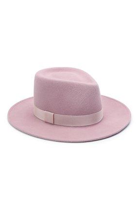 Женская шляпа drop COCOSHNICK HEADDRESS розового цвета, арт. dropm-1021 | Фото 1