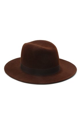 Женская шляпа london COCOSHNICK HEADDRESS коричневого цвета, арт. londonm-82 | Фото 1