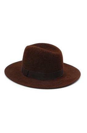 Женская шляпа london COCOSHNICK HEADDRESS коричневого цвета, арт. londonm-82 | Фото 2