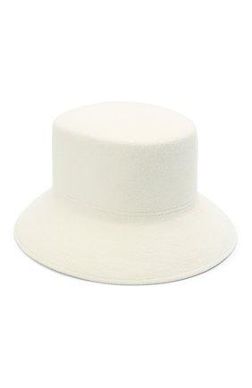 Женская шляпа panama COCOSHNICK HEADDRESS белого цвета, арт. basel-01 | Фото 1