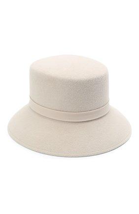Женская шляпа panama COCOSHNICK HEADDRESS светло-бежевого цвета, арт. basel-96 | Фото 1
