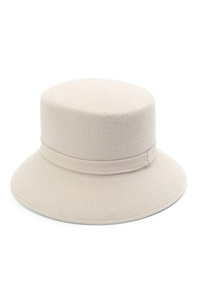 Женская шляпа panama COCOSHNICK HEADDRESS светло-бежевого цвета, арт. basel-96 | Фото 2