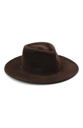 Женская шляпа romb COCOSHNICK HEADDRESS темно-коричневого цвета, арт. rombl-83 | Фото 1