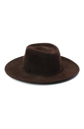 Женская шляпа romb COCOSHNICK HEADDRESS темно-коричневого цвета, арт. rombl-83 | Фото 2