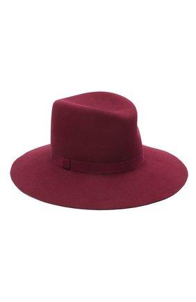 Женская шляпа fedora COCOSHNICK HEADDRESS бордового цвета, арт. fedoranewl-10 | Фото 1