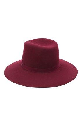 Женская шляпа fedora COCOSHNICK HEADDRESS бордового цвета, арт. fedoranewl-10 | Фото 2