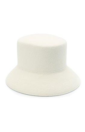 Женская шляпа panama COCOSHNICK HEADDRESS белого цвета, арт. basem-01 | Фото 2