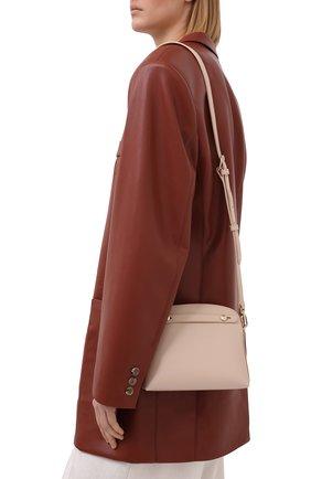 Женская сумка piper mini FURLA бежевого цвета, арт. EAW7PE0/ARE000   Фото 2