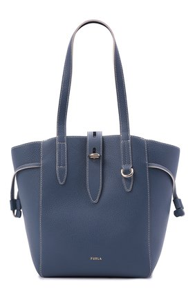 Женский сумка-тоут net medium FURLA синего цвета, арт. BZT0FUA/HSF000   Фото 1