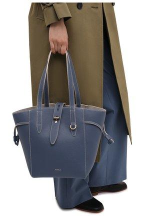 Женский сумка-тоут net medium FURLA синего цвета, арт. BZT0FUA/HSF000   Фото 2