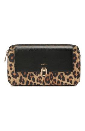 Женская сумка miss mimi mini FURLA леопардового цвета, арт. WE00125/A.0339 | Фото 1