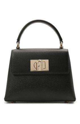 Женская сумка furla 1927 mini FURLA черного цвета, арт. WB00109/ARE000   Фото 1