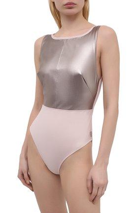 Женский слитный купальник SHAN розового цвета, арт. 42143-15 | Фото 2