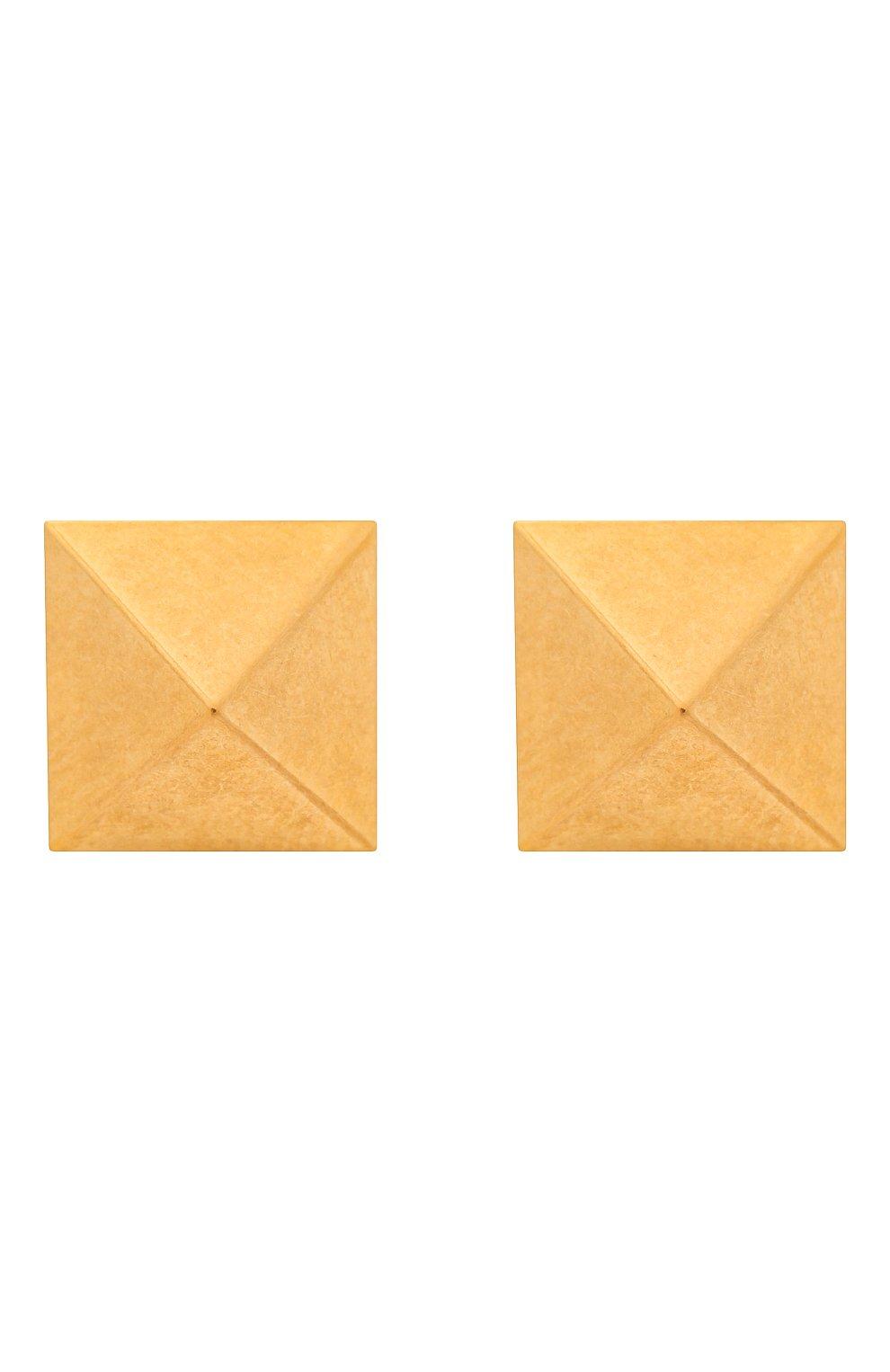 Женские серьги valentino garavani rockstud VALENTINO золотого цвета, арт. VW0J0G35/MET | Фото 1