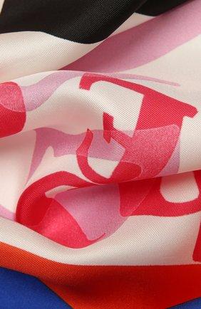 Женский шелковый платок CHLOÉ разноцветного цвета, арт. CHC21UT075SLK | Фото 2