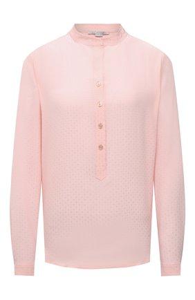 Женская блузка из вискозы STELLA MCCARTNEY светло-розового цвета, арт. 531885/SRA33 | Фото 1