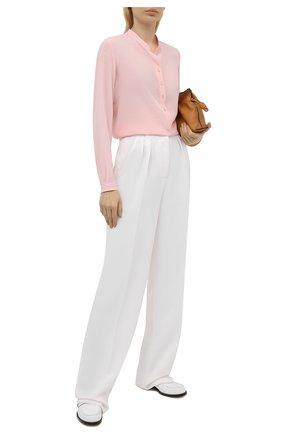 Женская блузка из вискозы STELLA MCCARTNEY светло-розового цвета, арт. 531885/SRA33 | Фото 2