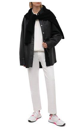 Женские текстильные кроссовки jago TOM FORD белого цвета, арт. W2818N-T0F006 | Фото 2