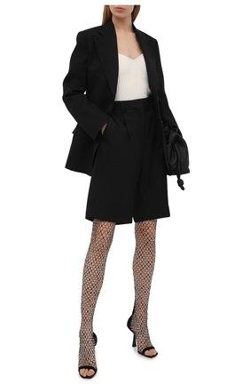 Женские текстильные ботфорты mixon 100 JIMMY CHOO черного цвета, арт. MIX0N 100/ZTZ | Фото 2