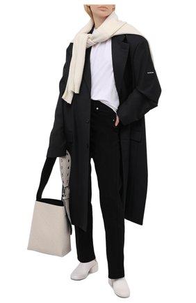 Женские кожаные сабо MARSELL белого цвета, арт. MW6240/PELLE V0L0NATA | Фото 2