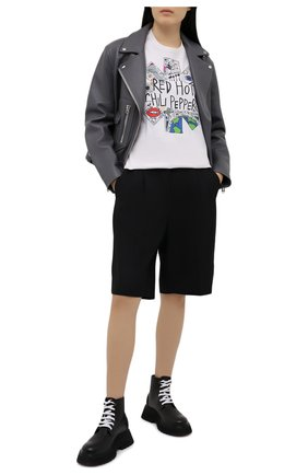 Женские кожаные ботинки MARSELL черного цвета, арт. MW6300/PELLE VITELL0 | Фото 2