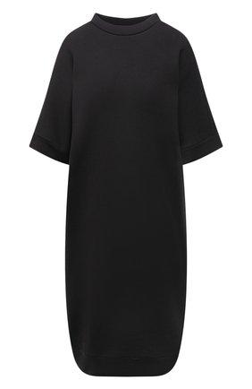 Женское хлопковое платье Y`S серого цвета, арт. YD-T72-069   Фото 1