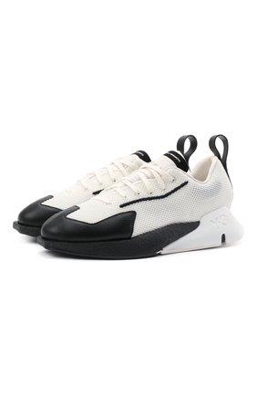 Женские комбинированные кроссовки orisan Y-3 черно-белого цвета, арт. FZ4319/W | Фото 1