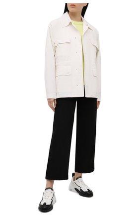Женские комбинированные кроссовки orisan Y-3 черно-белого цвета, арт. FZ4319/W | Фото 2