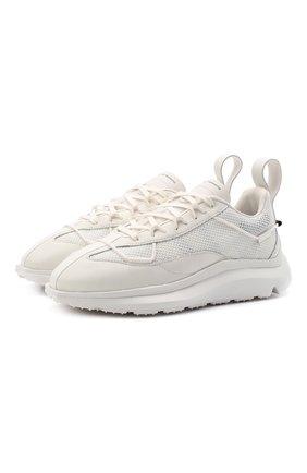 Женские комбинированные кроссовки shiku run Y-3 белого цвета, арт. FZ4322/W | Фото 1