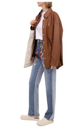 Женские джинсы PHILOSOPHY DI LORENZO SERAFINI разноцветного цвета, арт. A0312/2130 | Фото 2