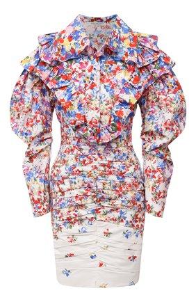 Женское хлопковое платье PHILOSOPHY DI LORENZO SERAFINI разноцветного цвета, арт. A0435/2143 | Фото 1