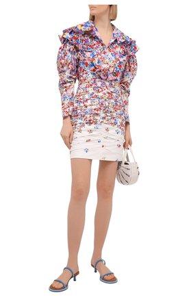Женское хлопковое платье PHILOSOPHY DI LORENZO SERAFINI разноцветного цвета, арт. A0435/2143 | Фото 2