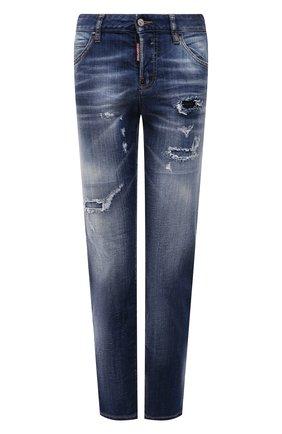 Женские джинсы DSQUARED2 синего цвета, арт. S72LB0389/S30342 | Фото 1